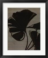 Platinum Shadow IV Framed Print