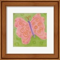 Framed Peace Butterfly
