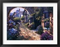 Framed Villa Cipriani Archway