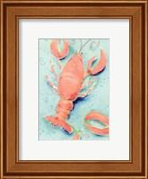 Framed Lobster Shuffle