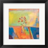 Framed Una Flor