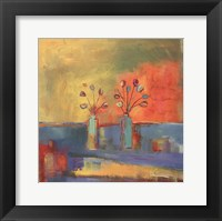 Dos Flores Framed Print