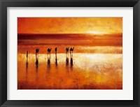 Framed Camel Crossing
