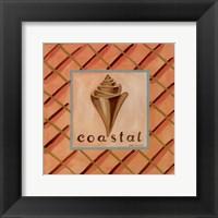 Coastal IV Framed Print