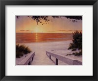 Framed Evening Sunset