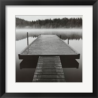 Arrow Dock, Salt Spring Island Framed Print