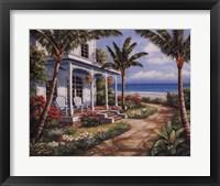 Summer House I Framed Print