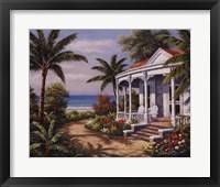 Summer House II Framed Print