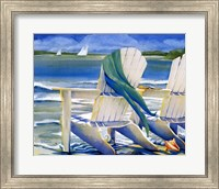 Framed Seaside Breeze