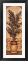 Framed Tuscan Palm I