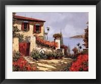 Framed Il Gardino Rosso