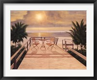 Framed Sunset Dreams