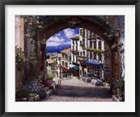 Framed Arch De Cagnes