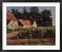 Framed Chateaux Du Buxy