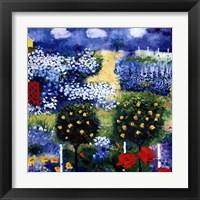 Framed Rose Garden