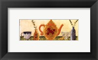 Herb Collection II Framed Print