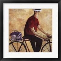 Framed El Hombre De La Bicicleta