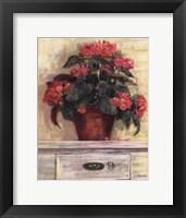 Framed Begonias