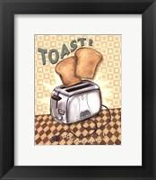 Framed Nifty Fifties - Toast