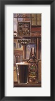 Framed Irish Beer