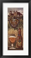 Framed Belgium Beer
