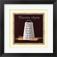 Framed Carottes Râpees