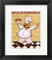 Le Chef Et Le Fruits Framed Print