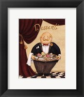 Framed Waiter - Dessert