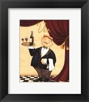 Framed Waiter - Vin