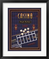 Framed High Roller (Craps)