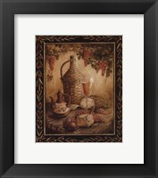 Tuscan Table - Orvieto - Mini Framed Print
