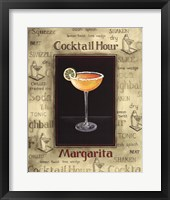 Framed Margarita