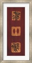 Framed Asian Panel I