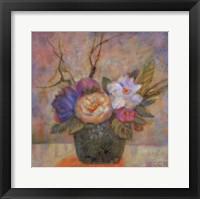 Framed Peach Blossom