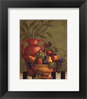 Framed Fresco Fruit I - Mini