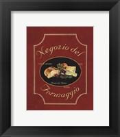 Framed Negozio Del Formaggio - Mini