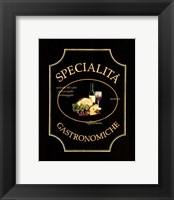 Framed Specialita Gastronomiche - Mini