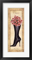 Framed Fashion Bouquet II