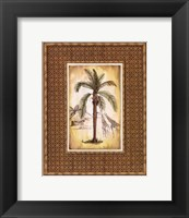 Framed South Palm IV - Mini