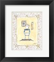 Framed Toilette III
