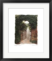 Passage To Eden Framed Print
