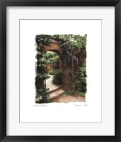 Framed Secret Garden