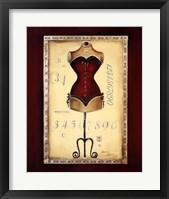 Framed Taille De Robe I