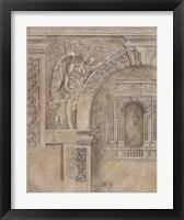 Framed Arch Spandrel #1