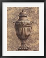 Framed Classical Urn Series #1-B