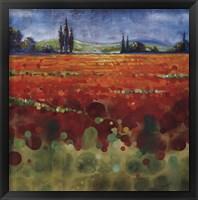 Framed Spring Meadows II