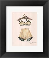 Framed Linen and Lace