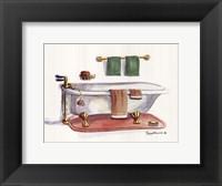 Framed Vintage Tub