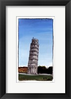 World Landmark Italy Framed Print