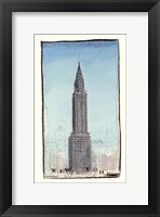 World Landmark New York Framed Print